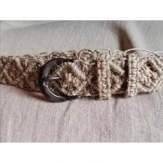 Cinturón de mujer de cáñamo