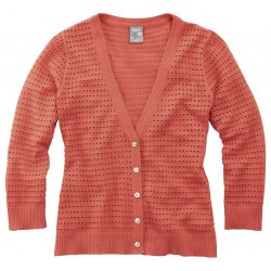 Summer jacket in open knit - XL