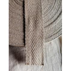 Strap chevron type flax