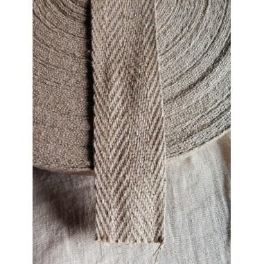 Tipo di cinturino chevron lino