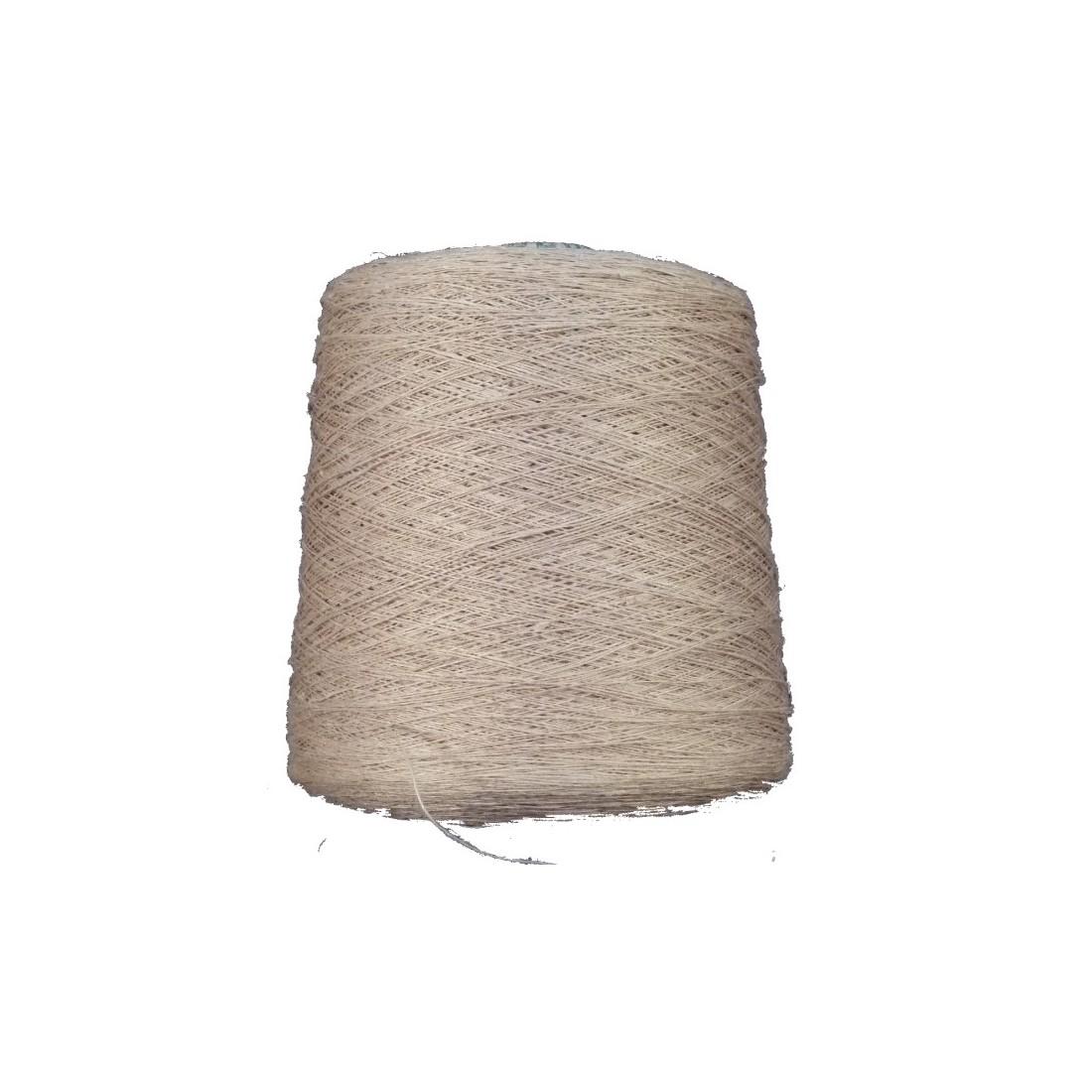 Weaving yarn 100% hemp