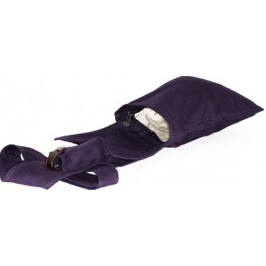 Plum purse
