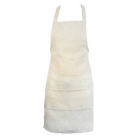 Kitchen organic hemp apron