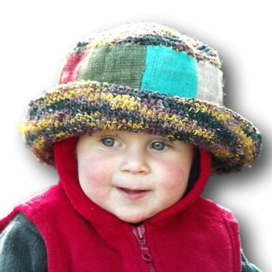 Hat child hemp