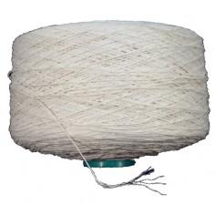 Filo crochet / tessitura bianco - 6 fili - 0.7mm