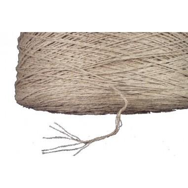 fil crochet chanvre type lin