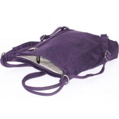 Rücken/Schulter - Hanf und Bio-Baumwoll-Tasche
