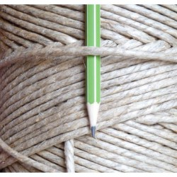 3.3 mm - hemp twine - 10, 35, 60, 240, 530 meters