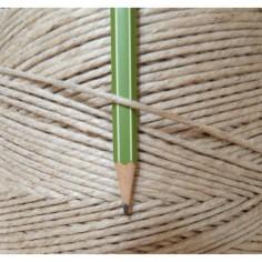 2 mm tipo spago di canapa di lino