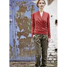 Pantalones de algodón orgánico las mujeres