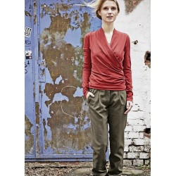 Chinos women organic cotton and hemp