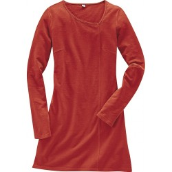 Tunic dress made of hemp and organic cotton