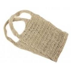 Gant dorsal crochet fil de chanvre