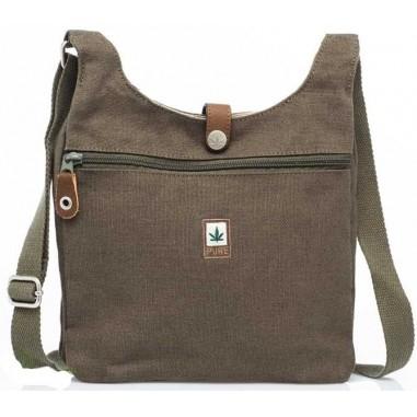 Cruz verde bolsa de cuerpo