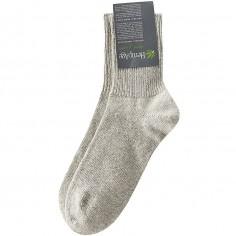De lana y calcetines de algodón orgánico