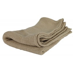 Grande serviette de toilette 100% chanvre
