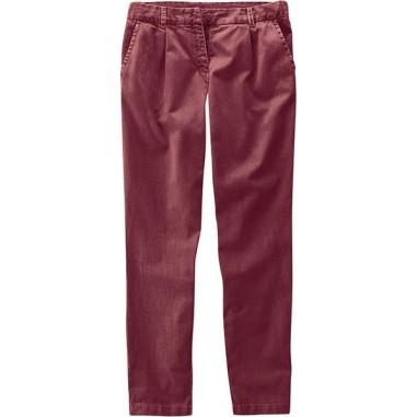 Pantalon pinces femme bio