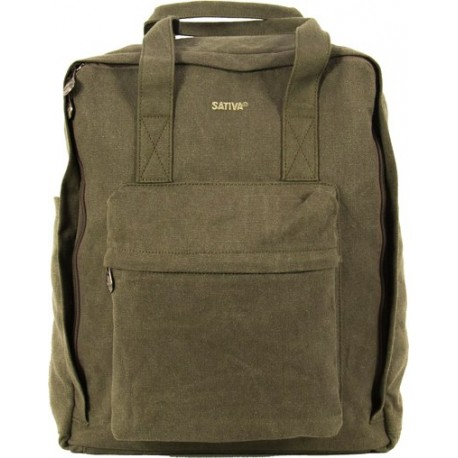 PC shoulder strap bag / back / hand in canvas
