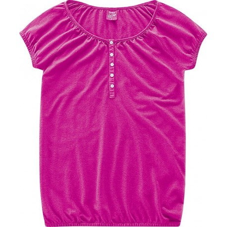 Blouse chemisier rose bio