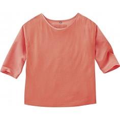 3/4 manga de múltiples tejidos - cáñamo, seda, algodón orgánico