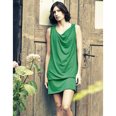 Dress spring hemp and organic cotton