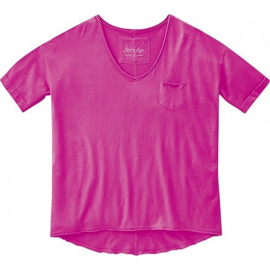 Tee shirt bio rose