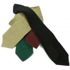 Cravatta verde bio