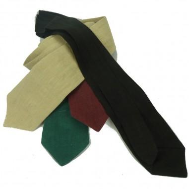 Bio green tie