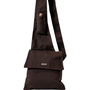 Borsa a tracolla tipo borsa di tela