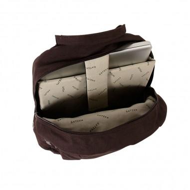 PC backpack laptop organic cotton / hemp