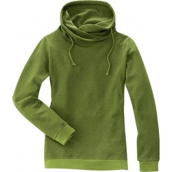 Sweatshirt woman hemp and organic cotton