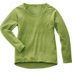 The thick hemp raglan shirt organic cotton