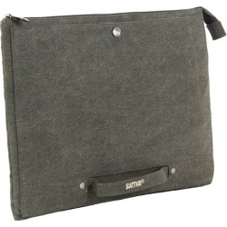 "Pocket Pc / mac - 13 ""- green canvas"