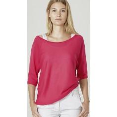 Donna maglione allentato era cotone organico e canapa