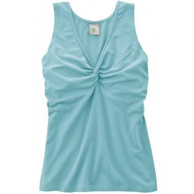 Organic cotton top and hemp - neckline node