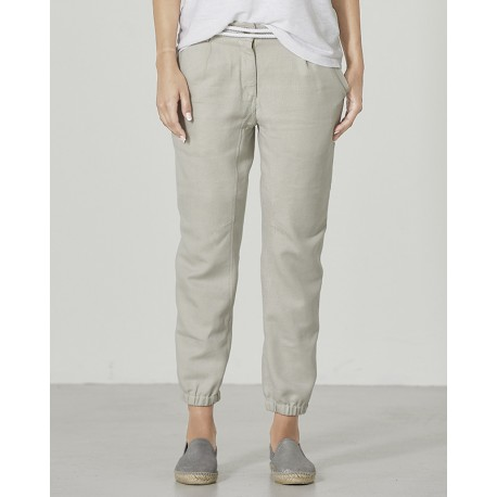 Woman bio cotton hemp pants