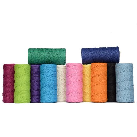 String color 1 mm waxed - 90 m
