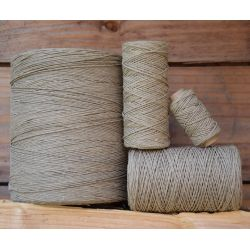 1 mm hemp 20,90,200 or 1000 m - Twine