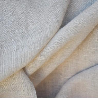 GAUZE - butter 100% hemp canvas