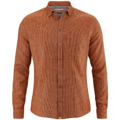 Hemp and organic cotton striped shirt