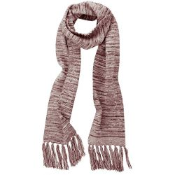 Scarf with fringes in hemp cotton and recycled organic