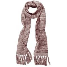 Schal mit Fransen aus Hanf, Baumwolle und Recycling-Bio