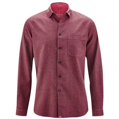 Ecologicamente e socialmente certificata camicia uomo