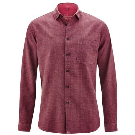 Environmentally and socially certified men's shirt