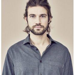 Herrenhemd mit Mustern, Hanf und Bio-Baumwolle