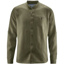 Chemise col mao - Pur chanvre