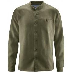Shirt collar mao - pure hemp