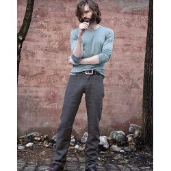 Pantalones de cáñamo puro para hombres / mujeres