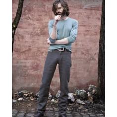 Jeans di pura canapa per gli uomini / donne