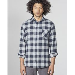 Hemp and organic cotton Plaid Shirt